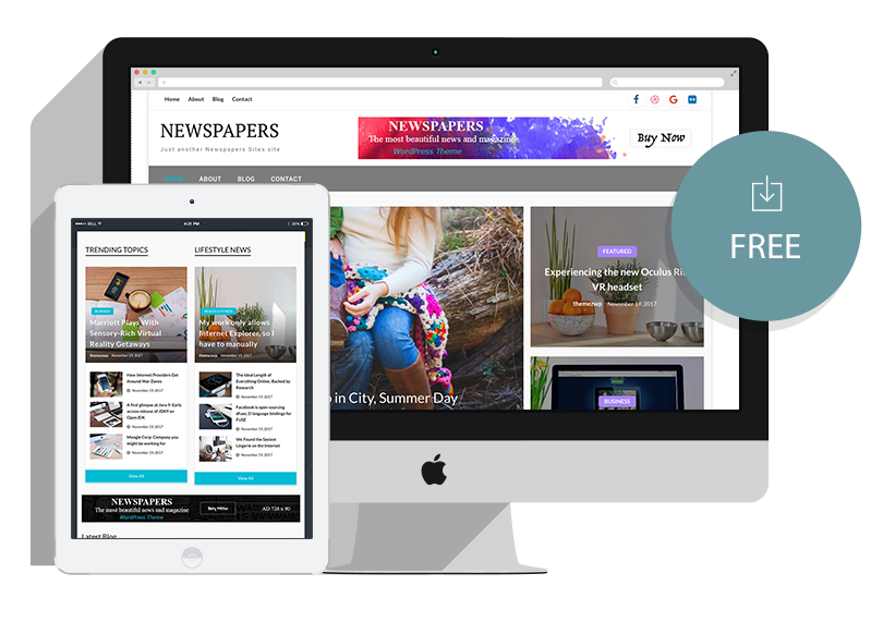 newspapers lite themez wp downloadable wordpress themes