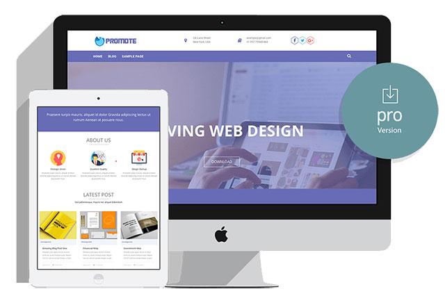 Promote Pro Wordpress Theme